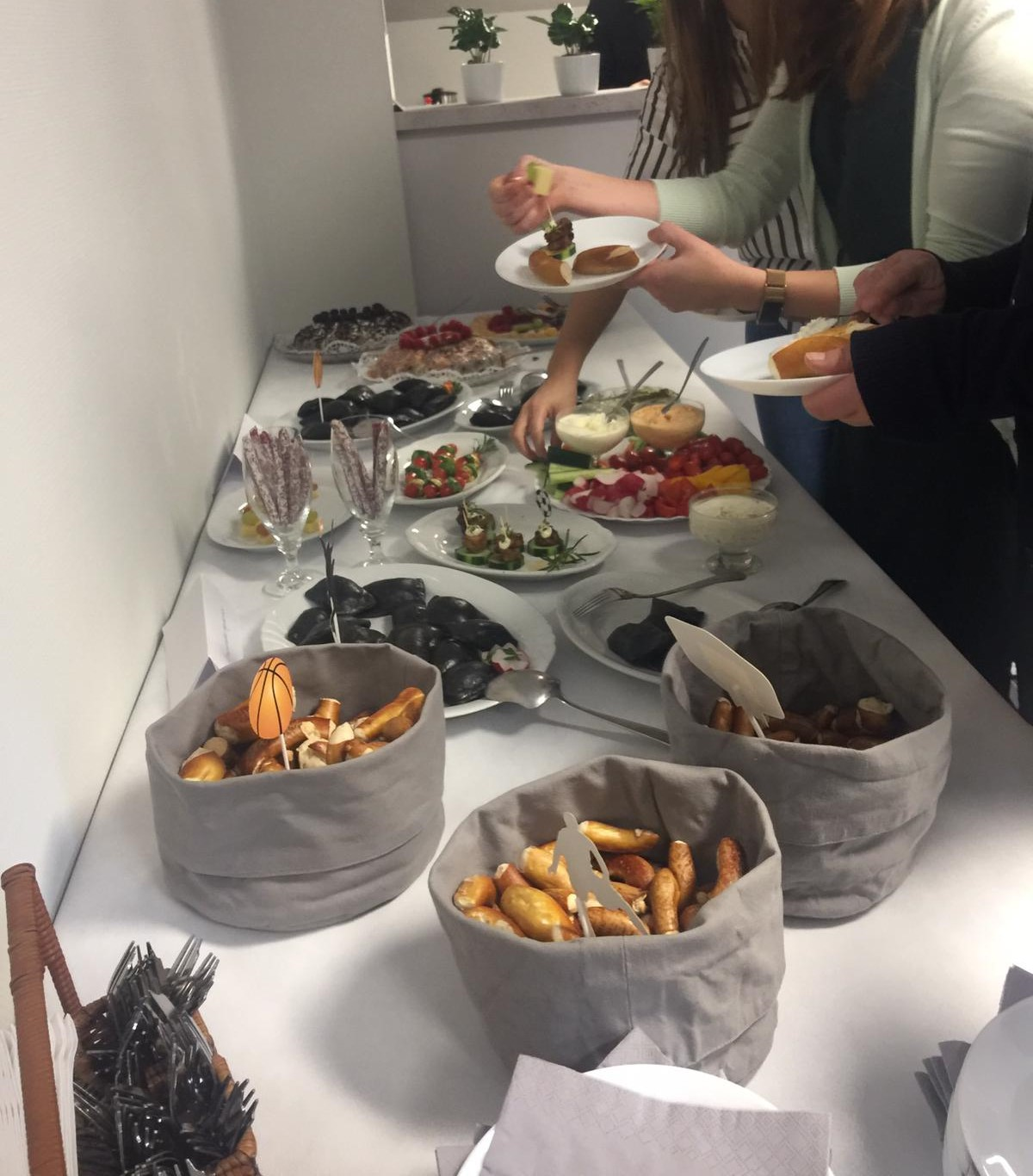 Römerwall international food